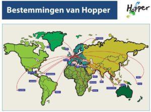 Hopper Bestemmingen