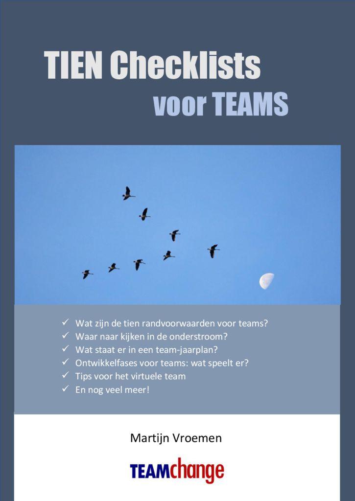 thumbnail of e-Book 10 Checklists voor Teams